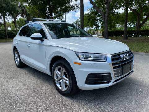 2019 Audi Q5 for sale at DELRAY AUTO MALL in Delray Beach FL