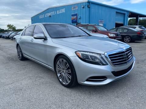 2015 Mercedes-Benz S-Class for sale at DELRAY AUTO MALL in Delray Beach FL