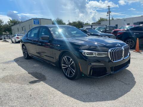 2020 BMW 7 Series for sale at DELRAY AUTO MALL in Delray Beach FL