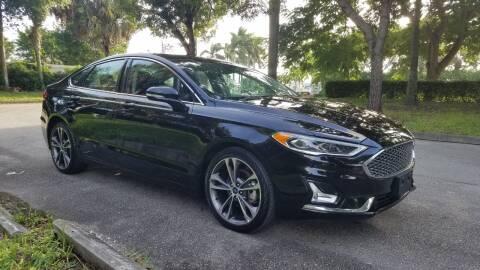 2019 Ford Fusion for sale at DELRAY AUTO MALL in Delray Beach FL