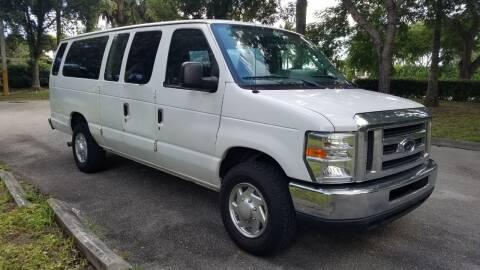 2013 Ford E-Series Wagon for sale at DELRAY AUTO MALL in Delray Beach FL