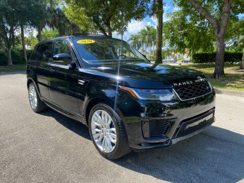 2020 Land Rover Range Rover Sport for sale at DELRAY AUTO MALL in Delray Beach FL