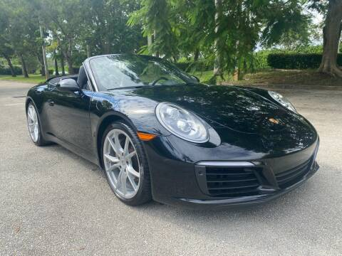 2019 Porsche 911 for sale at DELRAY AUTO MALL in Delray Beach FL