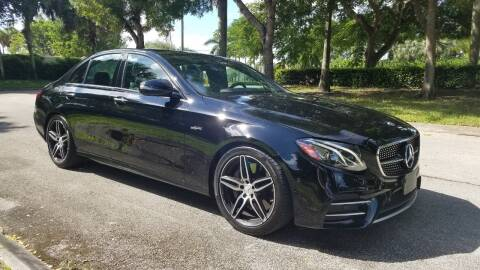 2019 Mercedes-Benz E-Class for sale at DELRAY AUTO MALL in Delray Beach FL