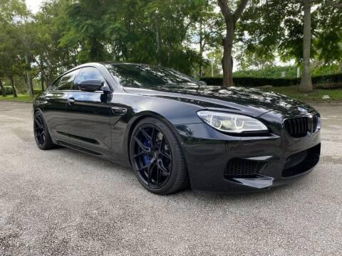 2018 BMW M6 for sale at DELRAY AUTO MALL in Delray Beach FL