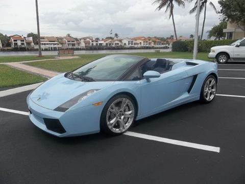 2007 Lamborghini Gallardo for sale at DELRAY AUTO MALL in Delray Beach FL