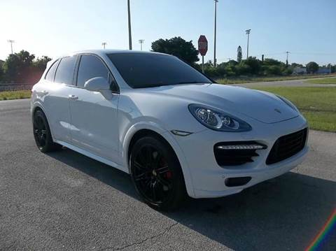 2014 Porsche Cayenne for sale at DELRAY AUTO MALL in Delray Beach FL