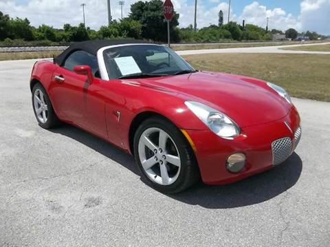 2006 Pontiac Solstice for sale in Delray Beach, FL