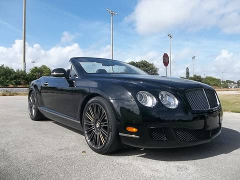 2010 Bentley Continental GTC Speed for sale in Delray Beach, FL