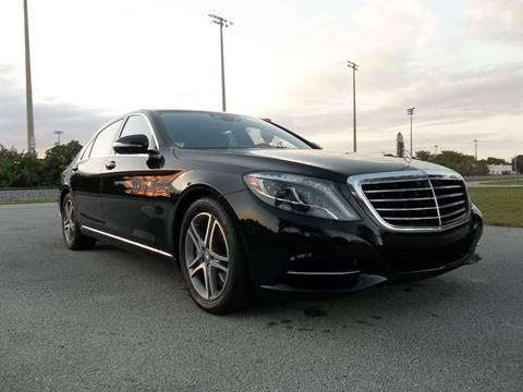 2016 Mercedes-Benz S-Class for sale in Delray Beach, FL
