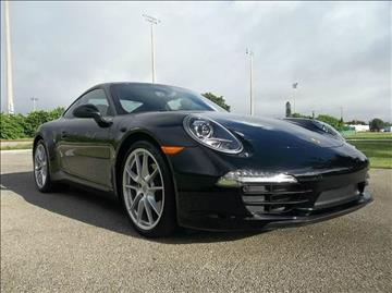 2015 Porsche 911 for sale at DELRAY AUTO MALL in Delray Beach FL