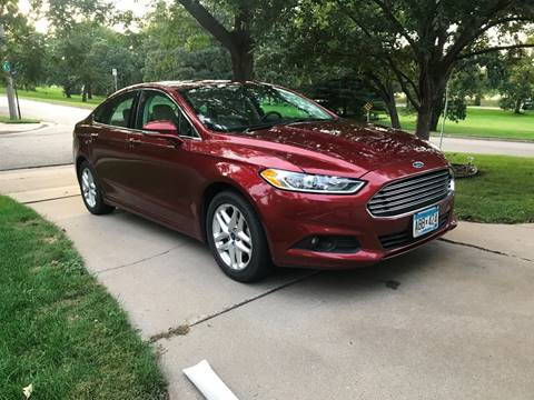2014 Ford Fusion for sale at You Win Auto in Metro MN