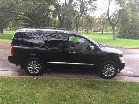 2009 Infiniti QX56 for sale at You Win Auto in Metro MN
