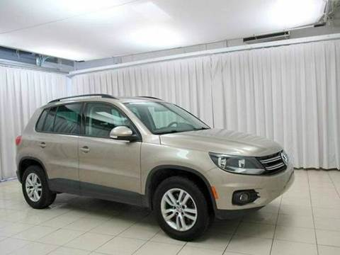 2010 Volkswagen Tiguan for sale at You Win Auto in Metro MN