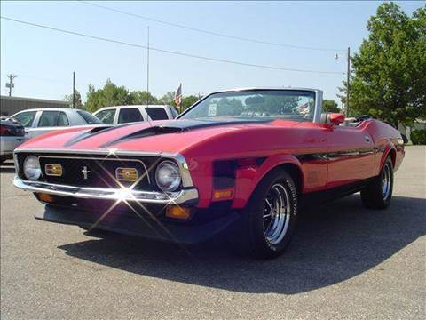 1972 Ford Mustang for sale at Cars R Us in Chanute KS