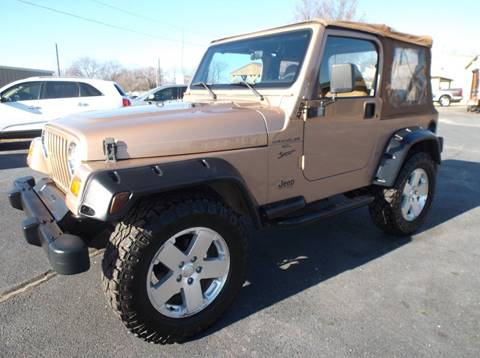 1999 Jeep Wrangler for sale at Cars R Us in Chanute KS