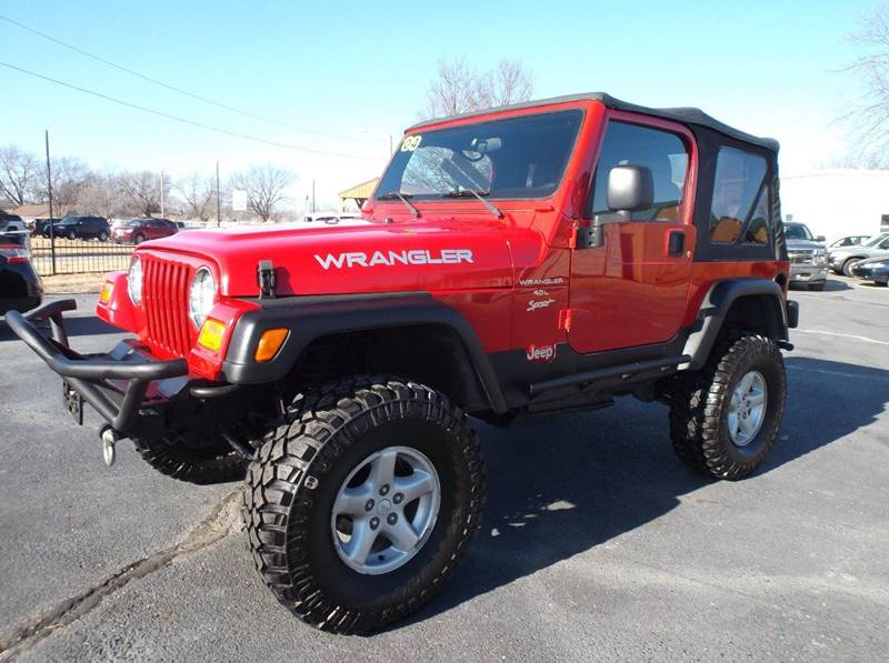 2004 Jeep Wrangler 2dr X 4WD SUV   Chanute KS