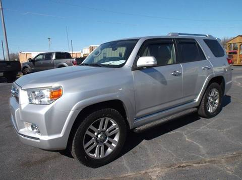 2010 Toyota 4Runner for sale at Cars R Us in Chanute KS