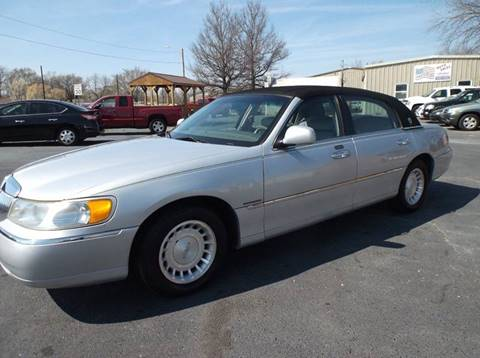2001 Lincoln Town Car For Sale In Ontario Ca Carsforsale Com