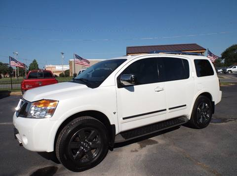 2013 Nissan Armada for sale at Cars R Us in Chanute KS