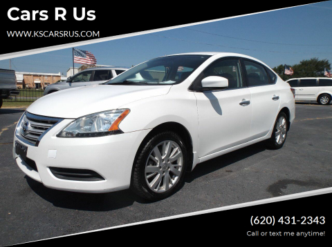 2014 Nissan Sentra for sale at Cars R Us in Chanute KS