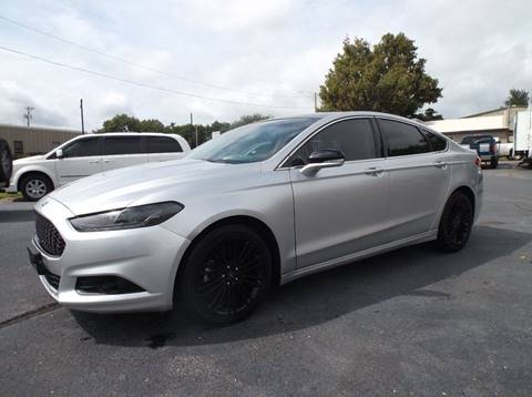 2015 Ford Fusion for sale in Chanute, KS