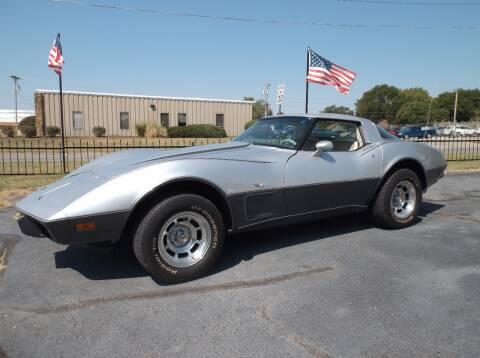 1978 Chevrolet Corvette for sale at Cars R Us in Chanute KS