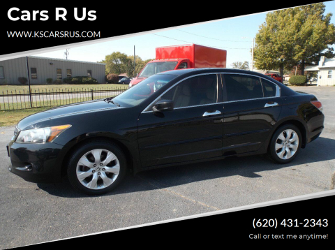 2010 Honda Accord for sale at Cars R Us in Chanute KS