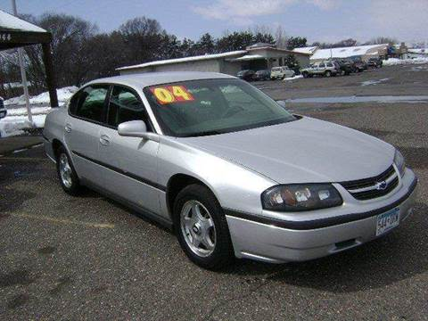 2004 Chevrolet Impala for sale at Country Side Car Sales in Elk River MN