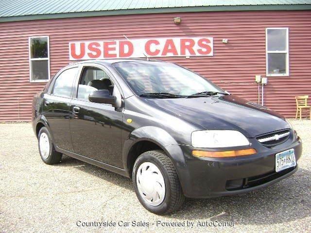 2004 Chevrolet Aveo 4dr Sedan In Elk River Mn Country Side Car Sales