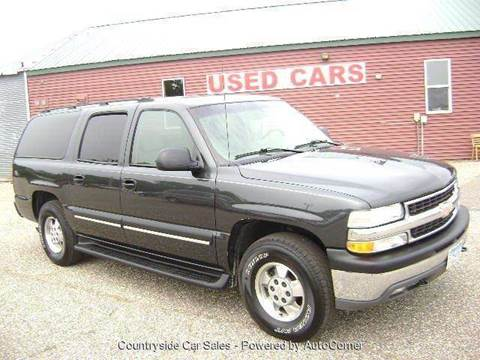 2003 Chevrolet Suburban for sale at Country Side Car Sales in Elk River MN