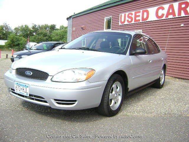 2004 Ford Taurus for sale at Country Side Car Sales in Elk River MN