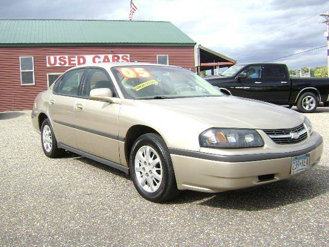 2005 Chevrolet Impala for sale at Country Side Car Sales in Elk River MN