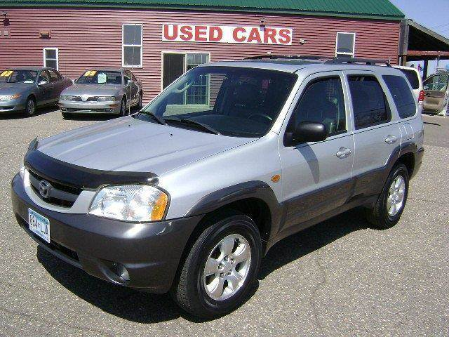 2003 Mazda Tribute for sale at Country Side Car Sales in Elk River MN