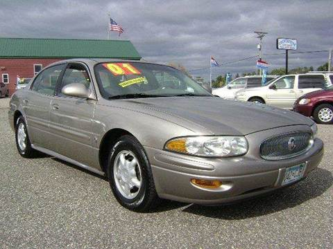 2001 Buick LeSabre for sale at Country Side Car Sales in Elk River MN