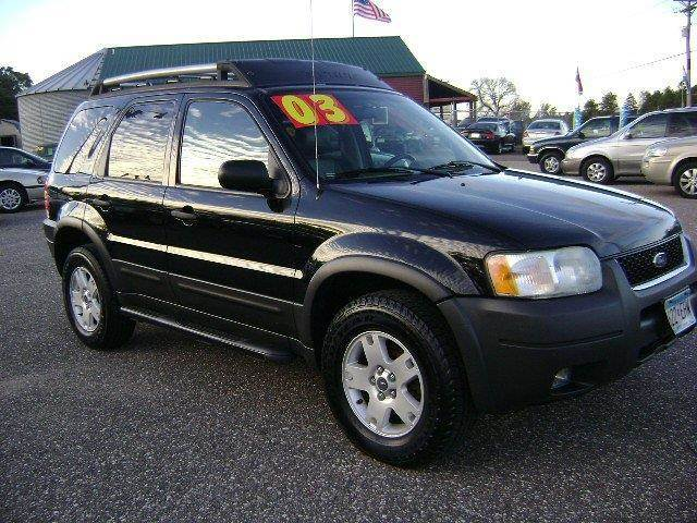 2003 Ford Escape for sale at Country Side Car Sales in Elk River MN