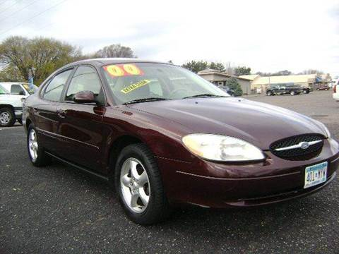 2000 Ford Taurus SES for sale at Country Side Car Sales in Elk River MN