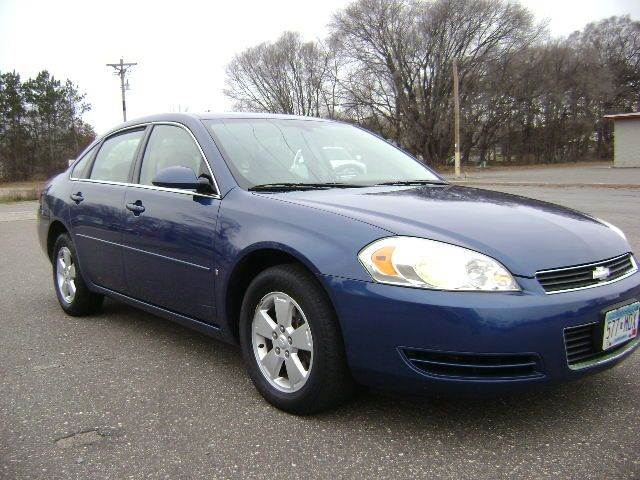 2006 Chevrolet Impala for sale at Country Side Car Sales in Elk River MN