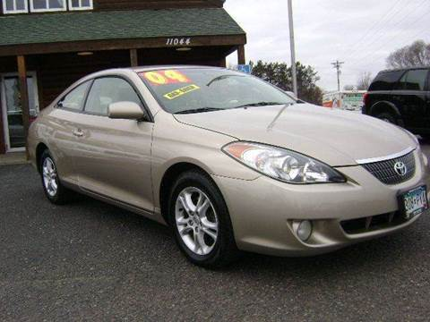 2004 Toyota Camry Solara for sale at Country Side Car Sales in Elk River MN