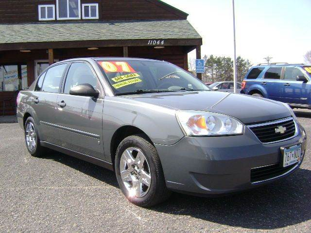 2007 chevrolet malibu ls 4dr sedan in elk river mn. Black Bedroom Furniture Sets. Home Design Ideas