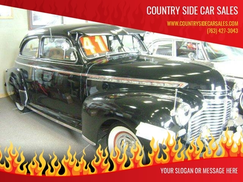 1941 Chevrolet SPECIAL DELUXE for sale at Country Side Car Sales in Elk River MN