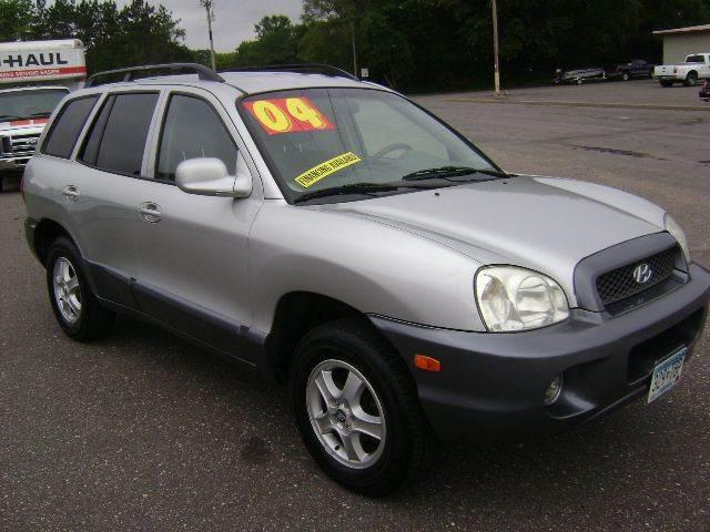 2004 Hyundai Santa Fe for sale at Country Side Car Sales in Elk River MN