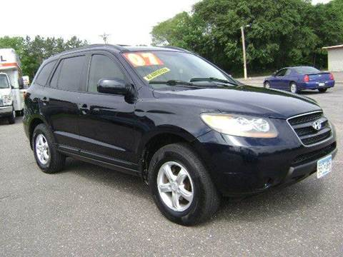2007 Hyundai Santa Fe for sale at Country Side Car Sales in Elk River MN