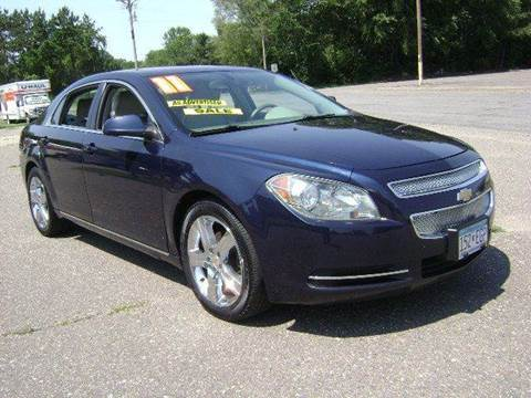2011 Chevrolet Malibu for sale at Country Side Car Sales in Elk River MN