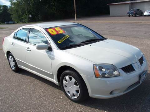 2005 Mitsubishi Galant for sale at Country Side Car Sales in Elk River MN