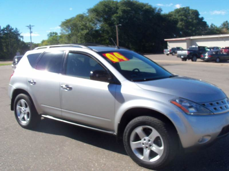 2004 Nissan Murano for sale at Country Side Car Sales in Elk River MN