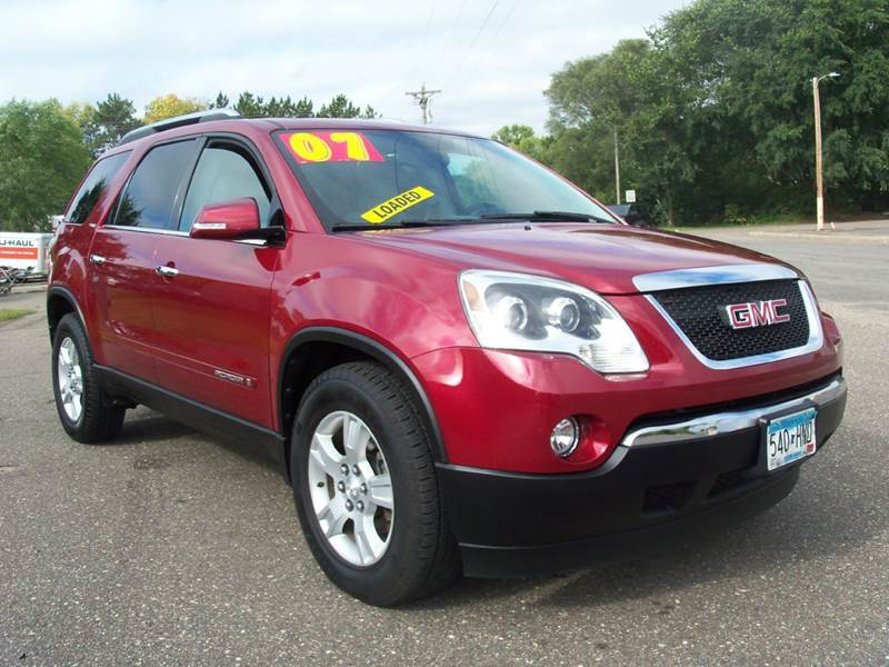 2007 GMC Acadia for sale at Country Side Car Sales in Elk River MN