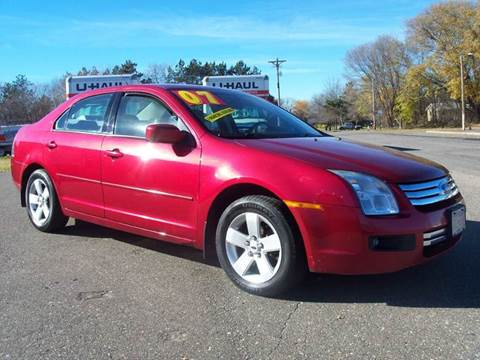 2007 Ford Fusion for sale at Country Side Car Sales in Elk River MN