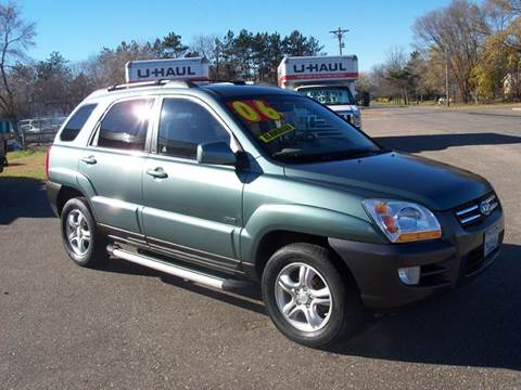 2006 Kia Sportage for sale at Country Side Car Sales in Elk River MN
