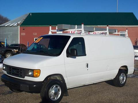 2003 Ford E-Series Cargo for sale at Country Side Car Sales in Elk River MN